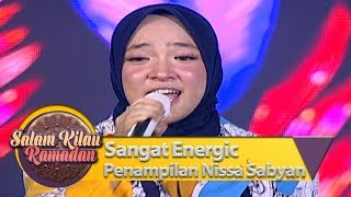 Sangat Energic Penampilan Nissa Sabyan [YA JAMALU]   Salam Kilau Ramadan (55)