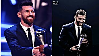 Lionel Messi All FIFA Best player & Ballon D'or Winning Moment 2009-2019/ Messi Win FIFA Best player