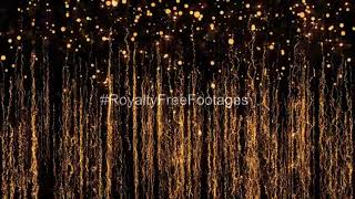 Christmas golden particles background video, Golden particles loop, golden particles background loop