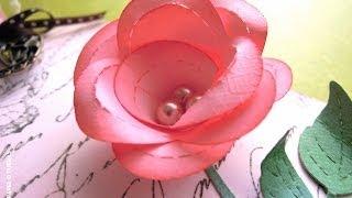 Cómo hacer una rosa de papel. TUTORIAL