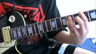 Anthrax - Efilnikufesin (N.F.L.) Cover with Solo