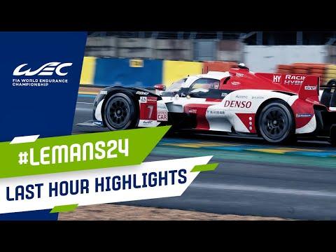 ル・マン24時間 決勝レースのゴールハイライト動画