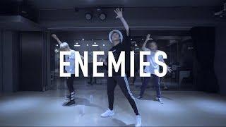 亨利 Henry Lyrical Choreography @ Lauv - Enemies / Henry Choeography