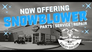Rugged Rock Snowblower Service and Parts Promotion