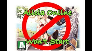 Game Won't Start?! [Alicia Online] How To Fix 2 Common Bugs