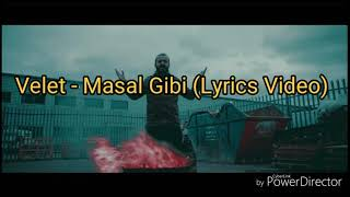 Velet   Masal Gibi (Lyrics Video)