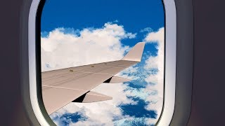 Plane Noise for Sleeping | Airplane Sounds also Help with Focus, Studying | White Noise 10 Hours