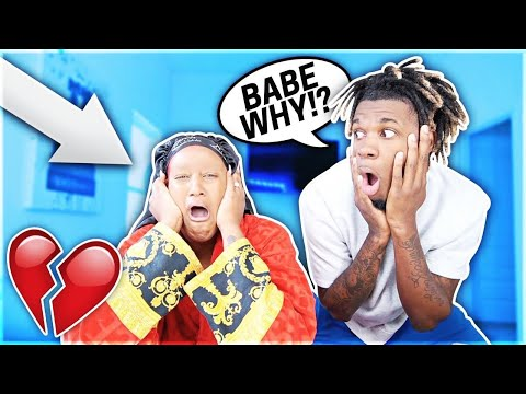 I SHAVED OFF MY EYEBROWS TOO SEE HOW MY BOYFRIEND WOULD REACT!!!😱