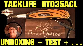 Tacklife RTD35ACL Multifunktionswerkzeug oder Dremel ? Unboxing und Test