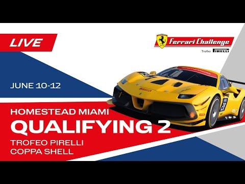 フェラーリチャレンジ2021 マイアミ 予選タイムアタックのフル動画