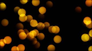 orange bokeh particles free video, motion graphics background | light leaks footage | bokeh overlay