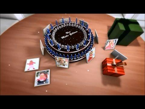 Doğum Günü Videosu Örneği