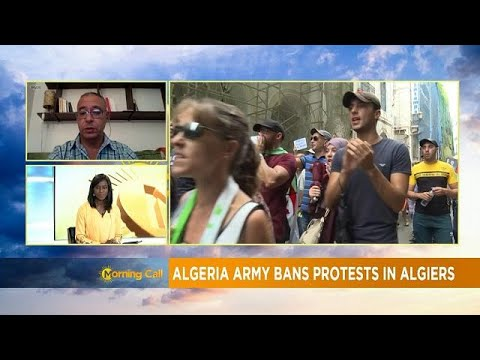 Algérie : l'armée durcit le ton [Morning Call] Algérie : l'armée durcit le ton [Morning Call]