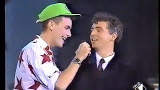 Pet Shop Boys   Domino DancingI'm Not Scared (Live 1, 2, 3, Jovanotti 1988)