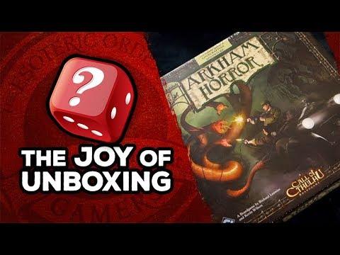 The Joy of Unboxing: Arkham Horror