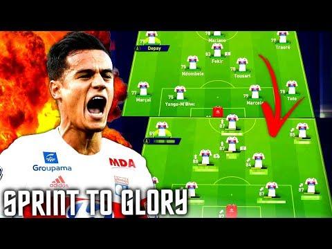 FIFA 18 : 4 JAHRE 20 MINUTEN 1 CHAMPIONS LEAGUE TITEL !!! 🔥🔥🏆 Olympique Lyon Sprint To Glory