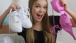 Spring Fashion Haul 2014 ♡ American Eagle, VS, Abercrombie, Nike & more!