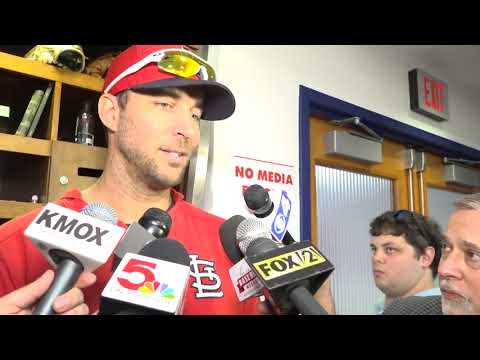 Adam Wainwright talks adoption of his son, Caleb