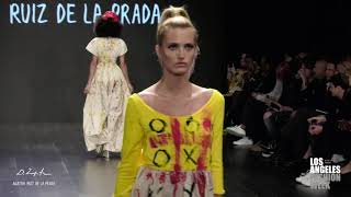 Domingo Zapata & Agatha Ruiz De La Prada at Los Angeles Fashion Week powered by Art Hearts Fashion