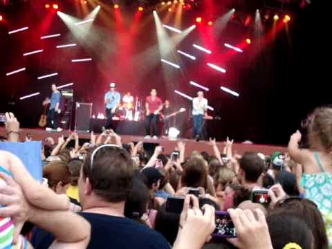 Big Time Rush Live Universal Studios Orlando Concert Song #7 Nothin Even Matters
