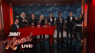 "Celebrities Sing ""We're Going to Hell"" to Help End AIDS"