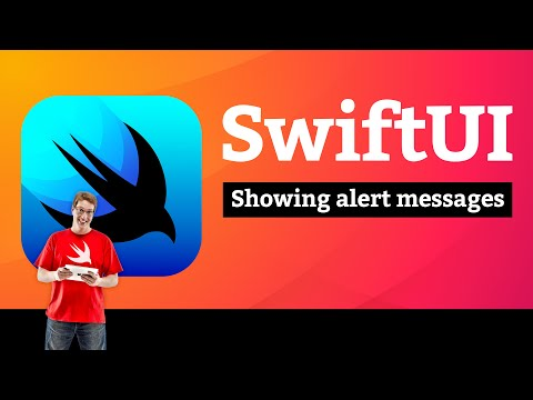 Showing alert messages – Guess the Flag SwiftUI Tutorial 5/9 thumbnail