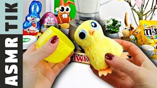 BABY EASTER chicks ASMR Dinner! Kluna Tik Dinner ASMR eating sounds no talk