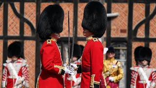 video: Watch: Changing of the Guard returns to Windsor Castle for first time since pandemic