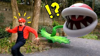 Super Mario goes to Tokyo in REAL LIFE