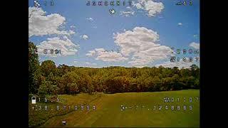 Eachine Tyro119 6 Inch DIY FPV Racing Drone Maiden Flight