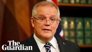 Scott Morrison says he has acknowledged the impact of climate change on bushfires 'all year'
