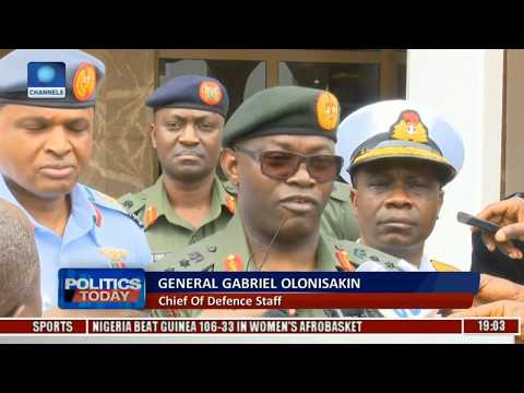 Political Round-Up: President Meets With Service Chiefs Over Security  Politics Today 