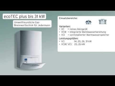 Vaillant Gas-Wandheizgerät ecoTEC plus bis 31kW