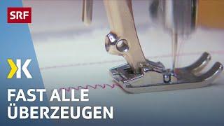 Nähmaschinen-Test: Die besten Modelle für Einsteiger |   2017 | SRF Kassensturz