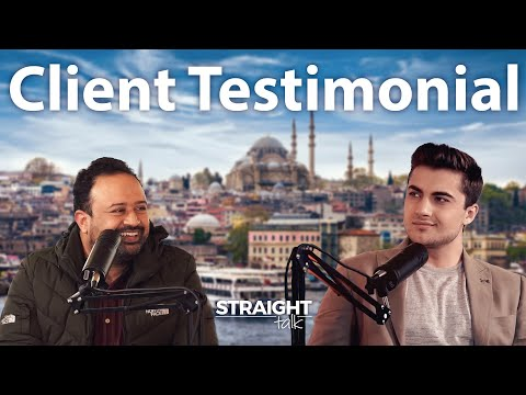 A testimonial from a client's investment journey to Istanbul