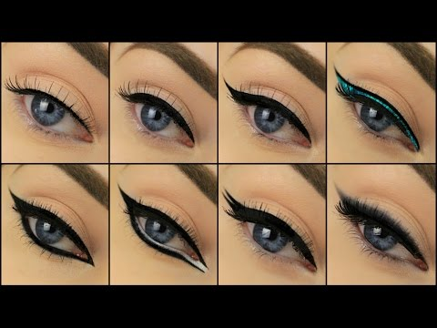 8 Different Drugstore Eyeliner Styles | Eimear McElheron