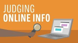 Judging Online Information
