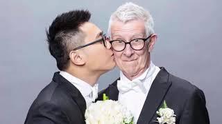 """Chàng trai 24 tuổi kết hôn với cụ ông 75 tuổi khiến CĐM """"phát sốt"""""""