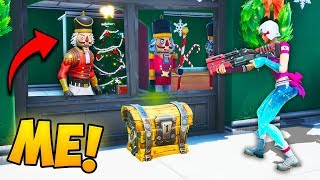 HIDE AS A *DECORATION* IN FORNITE!! - Fortnite Funny Fails And WTF Moments! #780