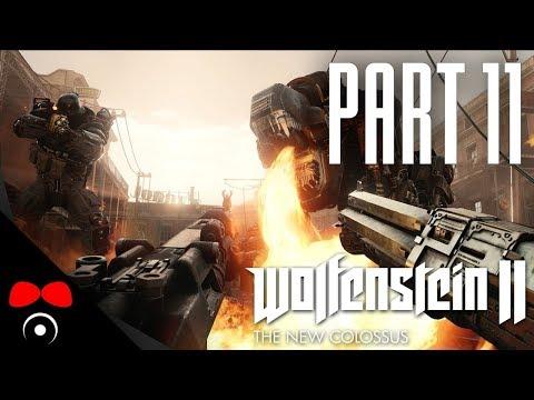 NOVÝ BIG FOKIN GUN? | Wolfenstein 2: The New Colossus #11