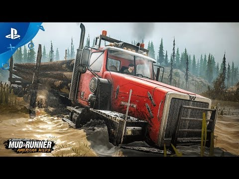 Spintires: MudRunner – American Wilds - Teaser Trailer | PS4