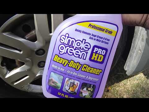 Simple green pro hd professional grade cleaner degreaser test review