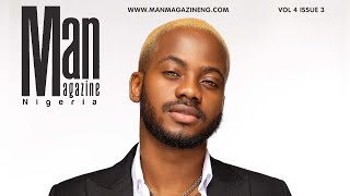 Korede Bello Covers Man Magazine Nigeria