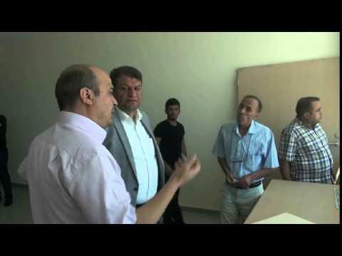 Başkan Ayhan Akçakale Devlet Hastanesi Biran Önce Bitirilmeli