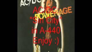 "AC/DC ""Sin City"": Retuned A-440 Version"