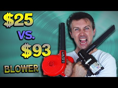 DataVac Electric Duster Review – $93 Blower Vs. $25 Cheaper Ebay Version