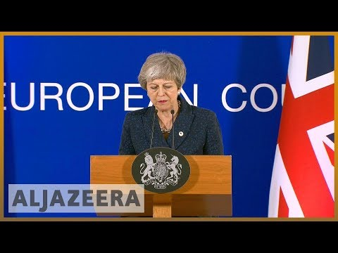 🇬🇧 Theresa May gets two-week Brexit reprieve from EU l Al Jazeera English
