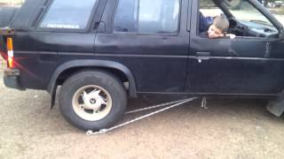 My truck has no reverse. This is what I built so that I can back up if I have to.