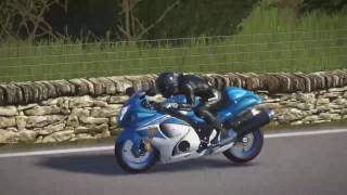 Ride 2 Me an my Hayabusa,Action,wheelies,chrashes   ALL with sound PS4