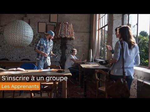 Groupes - S'inscrire à un groupe - les apprenants